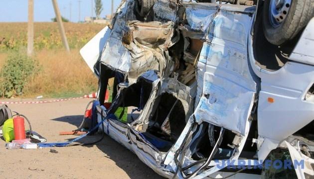Умерла еще одна жертва столкновения КамАЗа с маршруткой на Запорожье