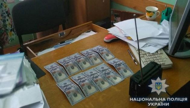 Полиция Львовщины задержала на взятке землеустроителя