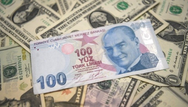 Турецька ліра демонструє рекордне падіння