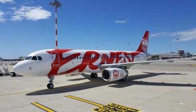 Харків прийняв перший прямий рейс італійського лоукостера Ernest Airlines