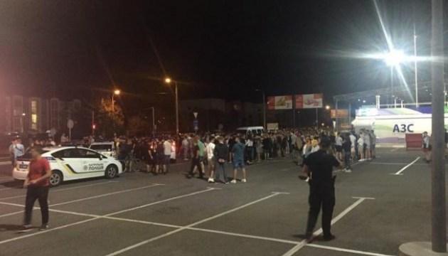 Уличные гонки в Ривне: пострадали трое копов, есть задержанный