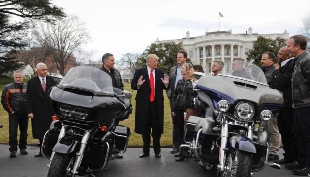 Трамп заявил, что байкеры намерены бойкотировать Harley-Davidson