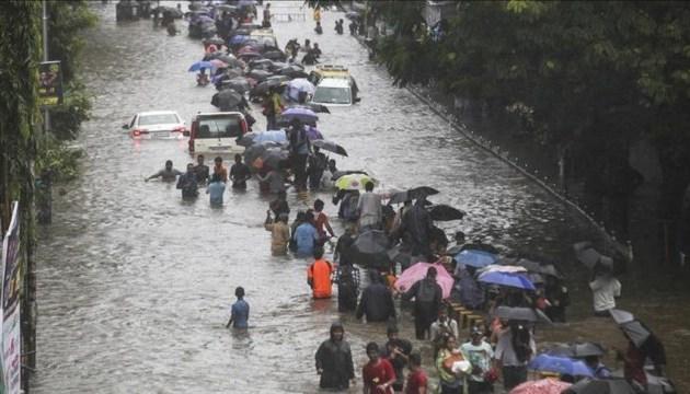 В Індії жертвами мусонних дощів стали 774 особи