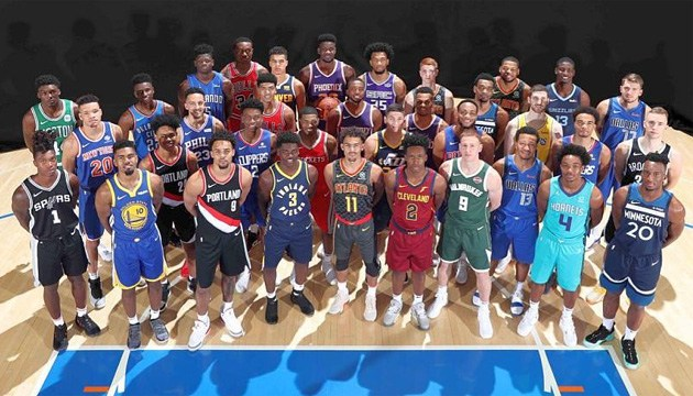 Basketball: Mychajljuk nahm am NBA-Foto-Shooting teil