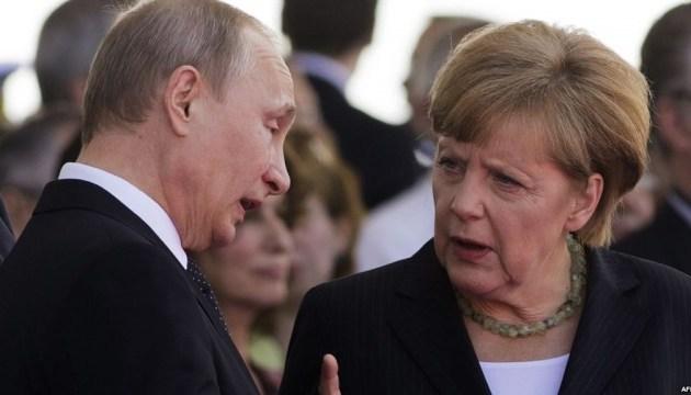 Putin y Merkel discutirán la situación en Ucrania y Nord Stream 2