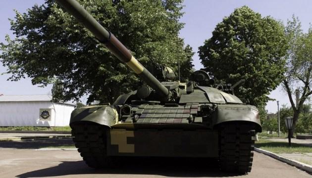 Porochenko a présenté les capacités du char T-72AMT amélioré (vidéo)
