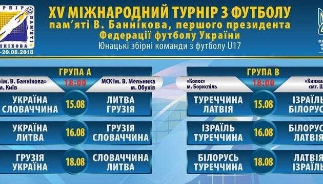 Футбол: у середу розпочинається Меморіал Віктора Баннікова