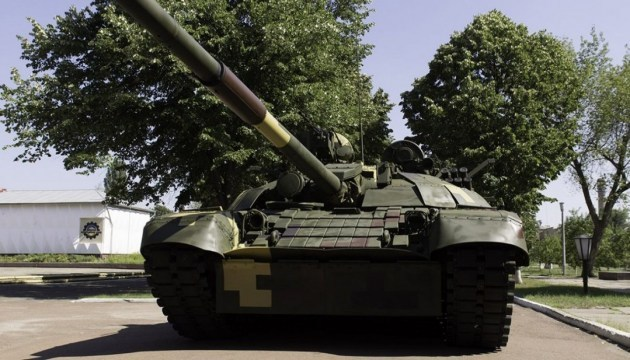 New Ukrainian T-72АМТ can destroy even most protected enemy tanks - Poroshenko