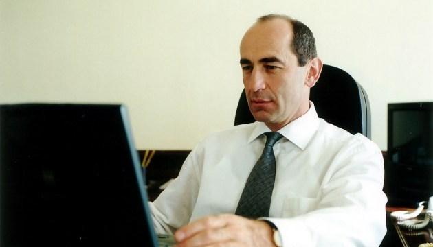 Суд отпустил из-под стражи бывшего президента Армении