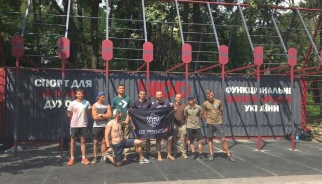 Генетика выживания: в Киеве провели открытую тренировку по CrossFit и такмеду