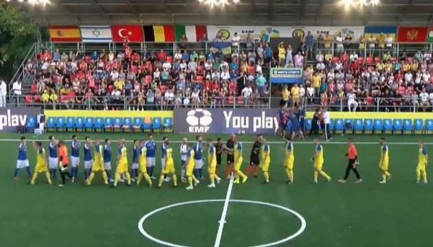 Украина обыграла Словакию на чемпионате Европы по мини-футболу