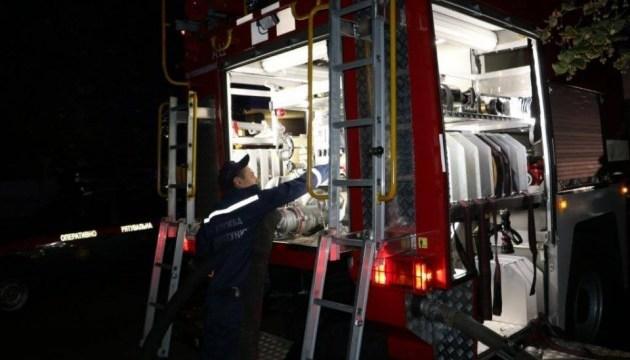 В центре Киева ночью горела больница