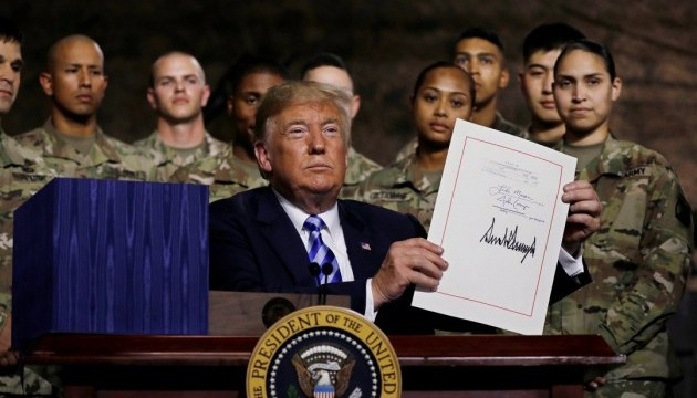 Trump signs NDAA for 2019 with $250 mln in security assistance to Ukraine