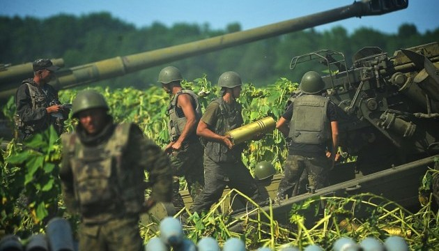 Militants launched 24 attacks on Ukrainian troops in Donbas in last day