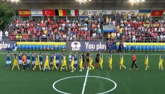 Europameisterschaft in Mini-Fußball: Ukraine schlägt Slowakei