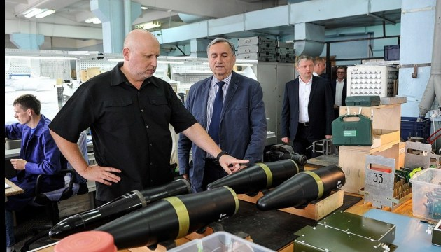 Luch missiles can destroy well-protected armored vehicles - Turchynov