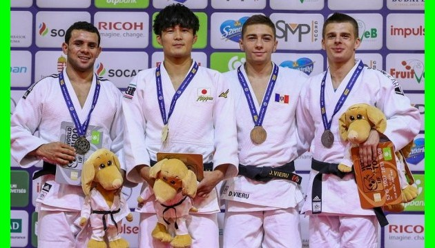 Українські дзюдоїсти здобули 16 медалей на Гран-прі та юнацькому Кубку Європи