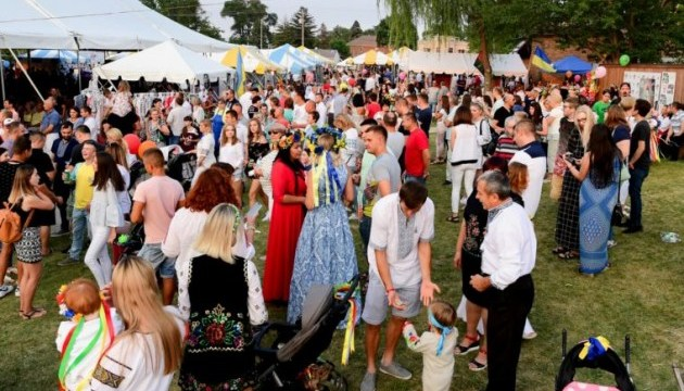 Ukrainian festival in Chicago gathers guests from all over the world