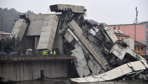 Foreign Ministry clarifying whether Ukrainians killed or injured in Genoa bridge collapse