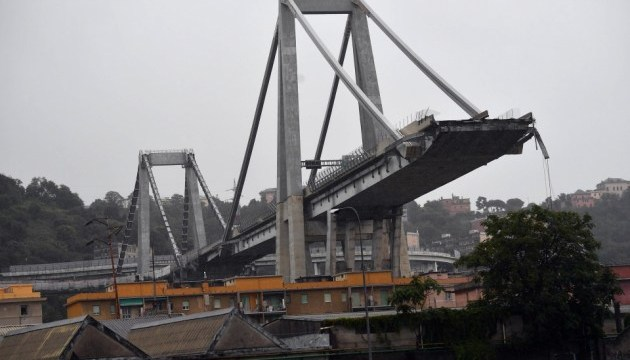 В Італії назвали ймовірні причини обвалу мосту