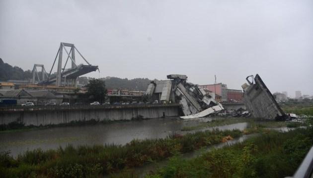 Обвал мосту в Італії забрав 20 життів, жертв може бути більше - ЗМІ