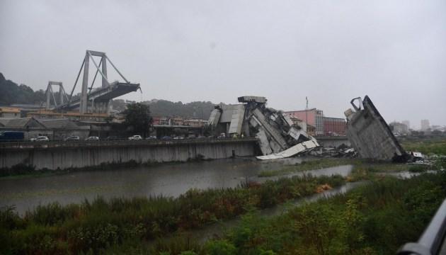 Итальянский Минтранс будет судиться  с оператором рухнувшего моста