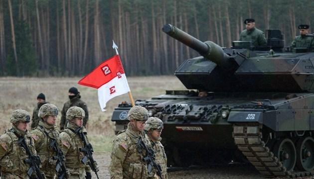 В Латвии пройдут международные военные учения Anakonda 18
