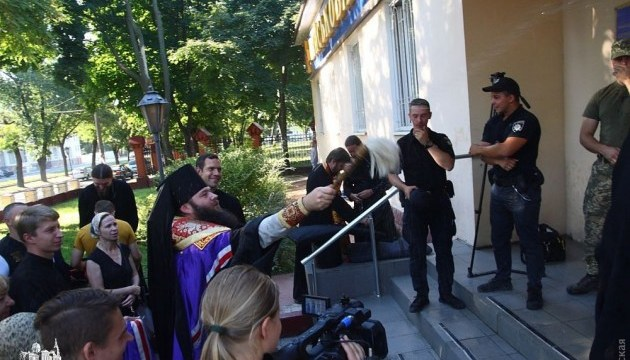 В Военной академии Одессы заявляют о провокации со стороны священников УПЦ МП