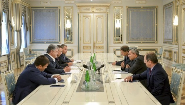 Ukrainian president, Israeli minister discuss trade and economic cooperation between two countries