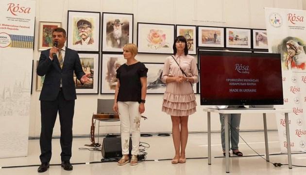 Українка за походженням організувала перший фестиваль акварельної творчості у Чехії