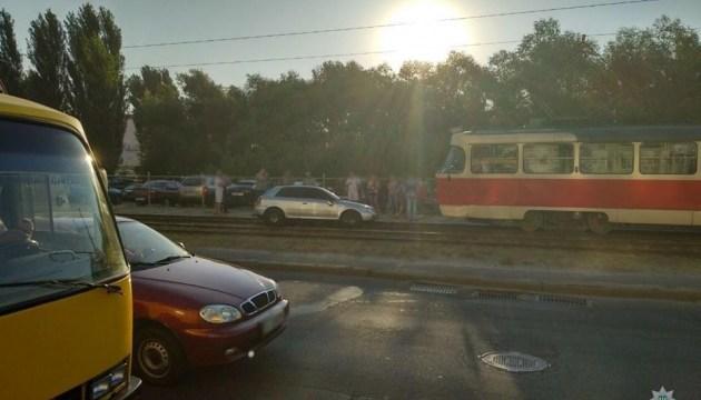 В Киеве задержали пьяного водителя, который сбил пешеходов и скрылся с места ДТП