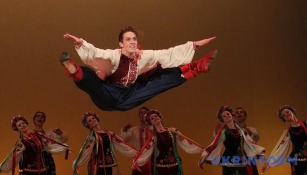 来自加拿大的乌克兰舞蹈团首次在卢茨克演出