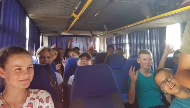 Діти з лінії розмежування прибули на відпочинок до Миколаївської області