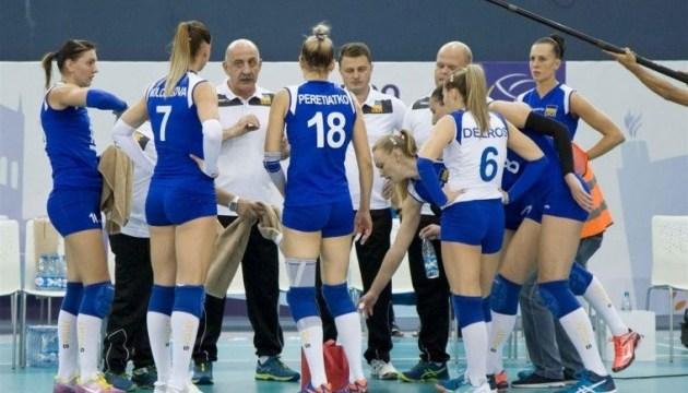 Женская сборная Украины по волейболу победила Норвегию на старте отбора Евро-2018