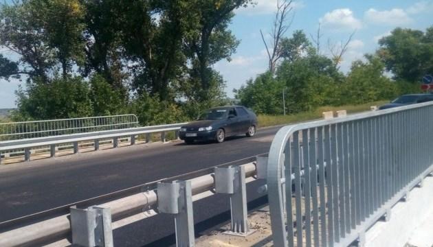 На Донетчине отремонтировали мост на автодороге Запорожье – Донецк
