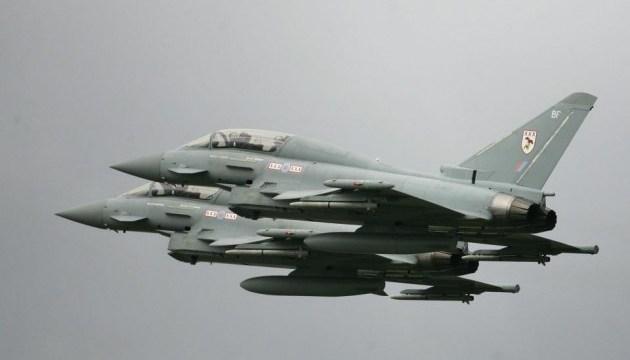 Британские истребители перехватили над Черным морем шесть бомбардировщиков РФ