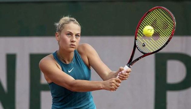 Марта Костюк програла на старті турніру ITF у Ванкувері