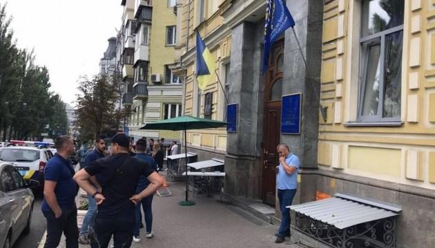 Полиция разблокировала вход в медуниверситет Богомольца