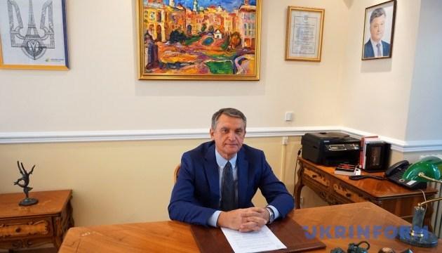 Для європейської безпеки важливо повернути Крим Україні - посол Шамшур