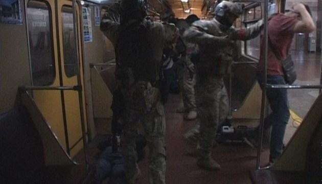 У Дніпрі провели антитерористичні навчання в метро