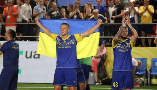 Украина разгромила Черногорию и вышла в плей-офф чемпионата Европы по мини-футболу
