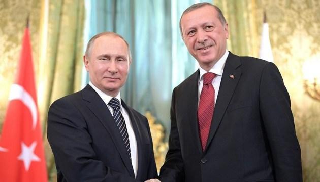 Стало відомо, де і коли зустрінуться Путін і Ердоган