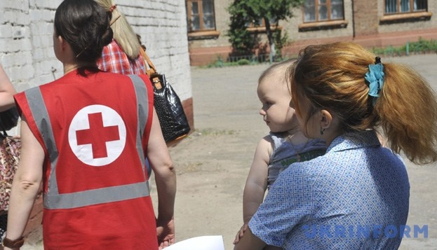 Red Cross sends about 295 tonnes of humanitarian aid to occupied Donbas