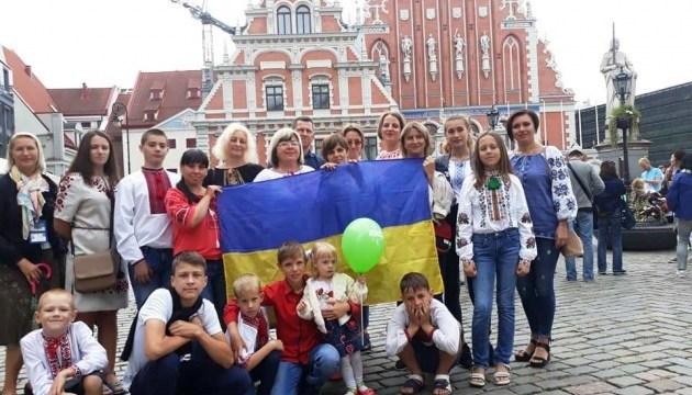 У Латвії відпочивають вдови та діти українських захисників