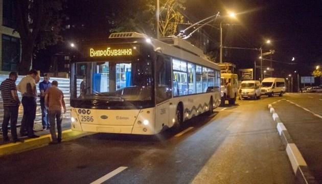 В Днипре запускают троллейбус на дальний массив - 80 минут в пути