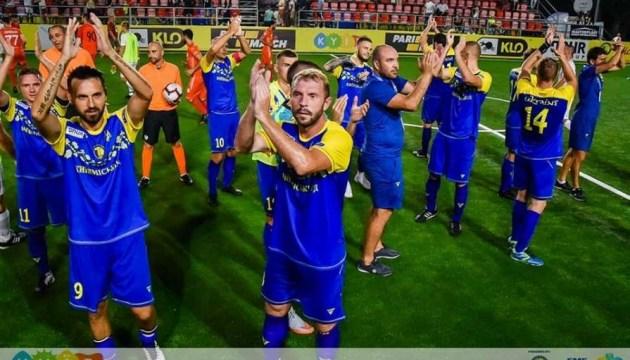 Kleinfeld-Fußball: Ukraine verliert im Elfmeterschießen gegen England