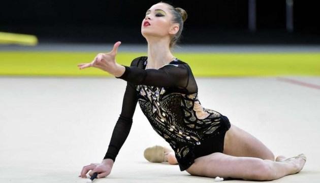 Українка Никольченко йде третьою на етапі Кубку світу з художньої  гімнастики
