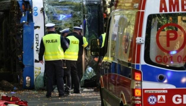 Польська поліція підтвердила загибель українців у ДТП - консул виїхав до Перемишля