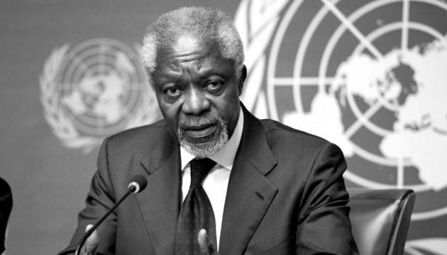 Помер екс-генсек ООН Кофі Аннан