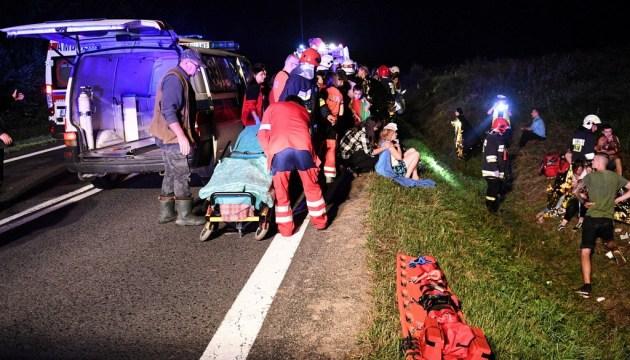В Польше разбился автобус с украинцами: 7 человек пострадали